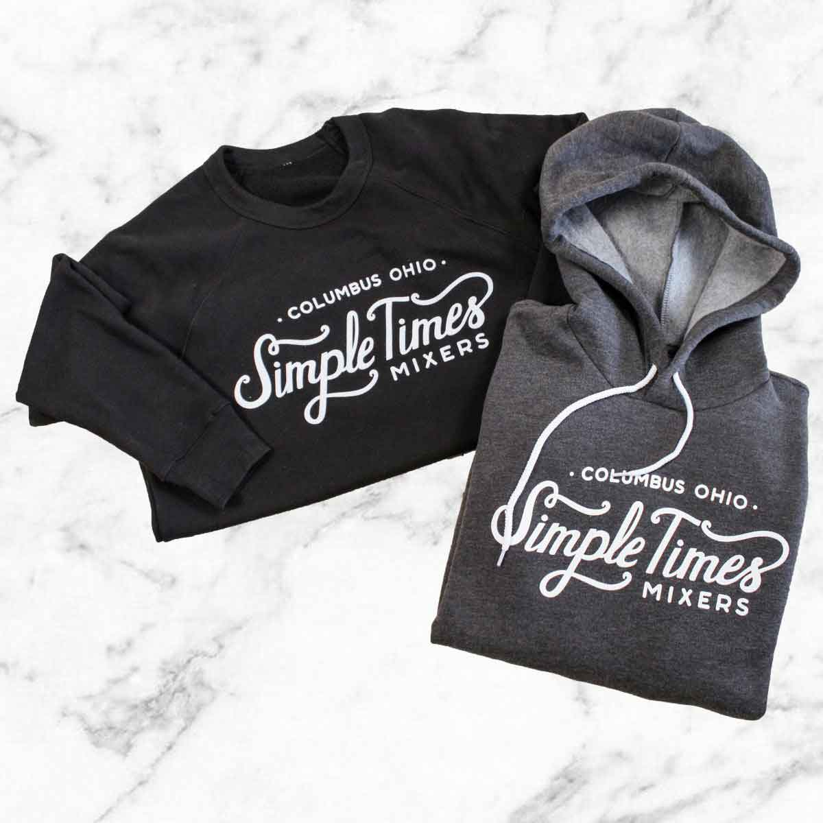 Cocktail Mixers - Alcohol Mixers - Simple Times Mixers - STM Sweatshirts