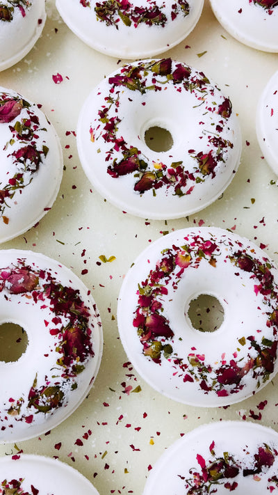 Rose Donut Bath Bomb