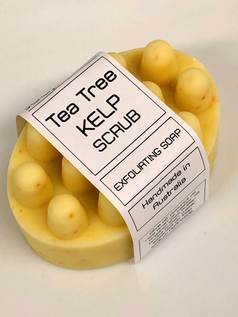 TEA TREE KELP SOAP SCRUBS