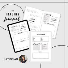 Load image into Gallery viewer, The Trading Journal (Digital Download)