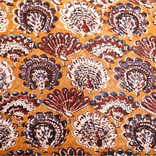Kuberan sand Yellow Fabric