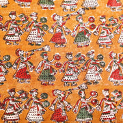Kuberan Yellow Art Fabric