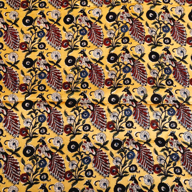 Kuberan Yellow Fabric