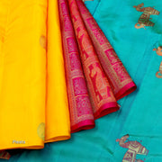 Kuberan Multi Kanchivaram Pure Silk saree