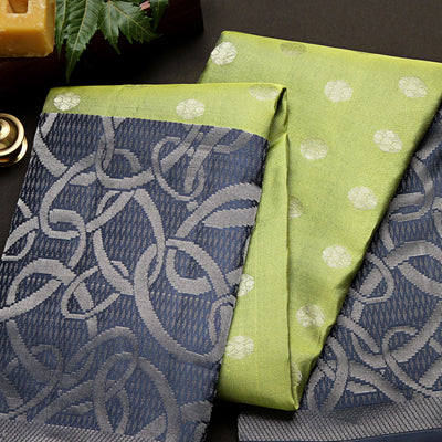 Kuberan Dark Green Dance Practice saree