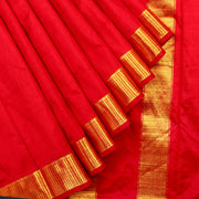 Kuberan Pink 9 Yards Silk Saree