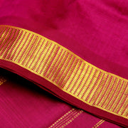 Kuberan Purple 9 Yards Silk Saree