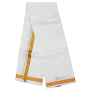Kuberan White Cotton Dhoti