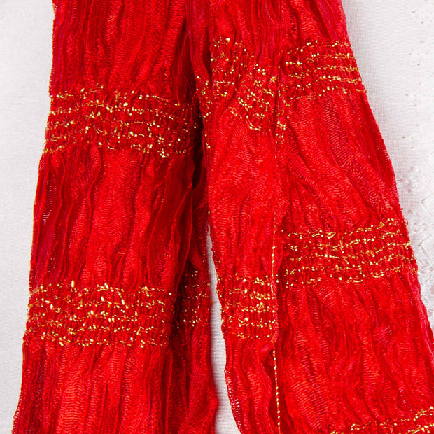 Kuberan Red Wedding Stole
