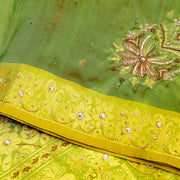 Kuberan Green Fancy Saree