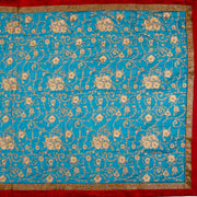 Kuberan Blue Georgette Saree