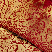 Kuberan Maroon Kanchivaram Silk Saree