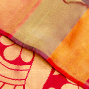 Kuberan Red Kanchivaram Silk Saree