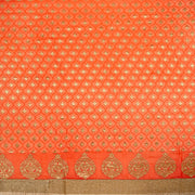 Kuberan Orange Georgette Saree
