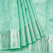 Kuberan Sea Green Kanchipuram Silk Saree