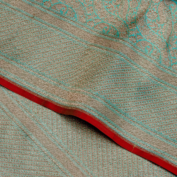 Kuberan Green Summer Silk Saree