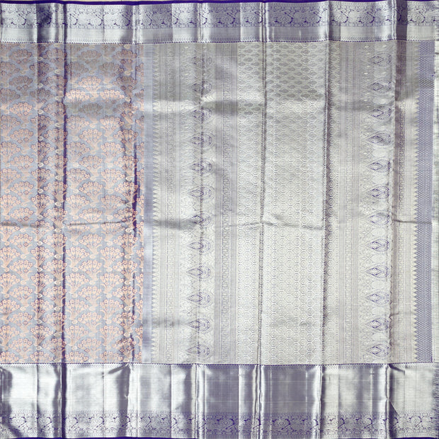 KUBERAN VIOLET  KANCHIVARAM SILK SAREE