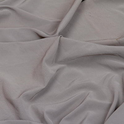 Kuberan Grey Satin Velvet Fabric