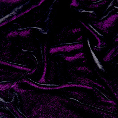 Kuberan Purple Velvet Fabric