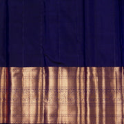 KUBERAN ROYAL BLUE KANCHIVARAM SILK SAREE
