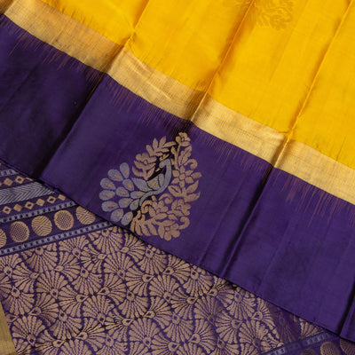 KUBERAN ROYAL BLUE DANCE PRACTICE SAREE