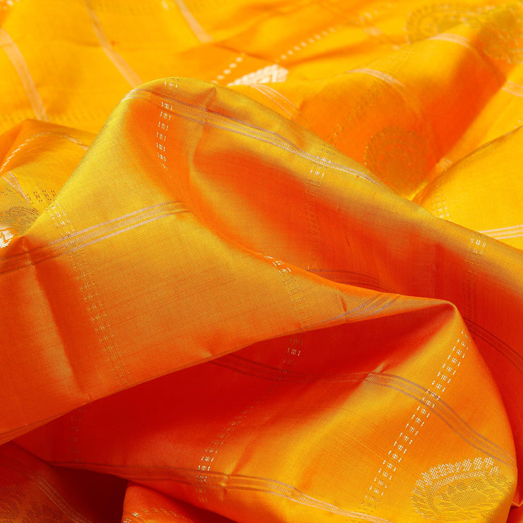 Kuberan Yellow Soft Silk Saree