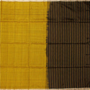 Kuberan Yellow Brown Soft Silk Saree