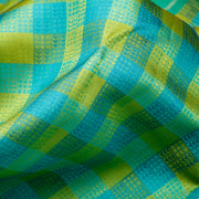 Kuberan Blue Green Kanchivaram Silk Saree
