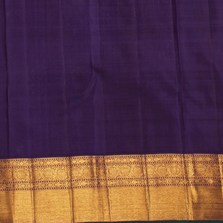Kuberan Light Pink Kanchivaram Silk Saree