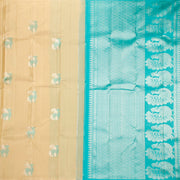 Kuberan Cream Kanchipuram Silk Saree