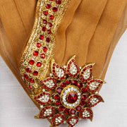 Kuberan Beige Wedding Stole