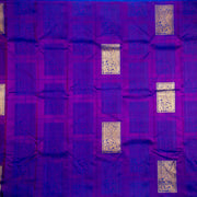 Kuberan Purple Kanchivaram Silk Saree