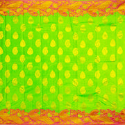 Kuberan Green Pure Silk Saree