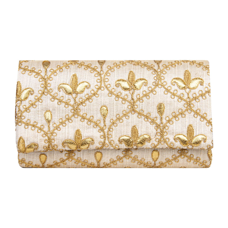 Kuberan Off white Clutch