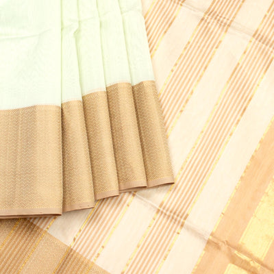 Kuberan off White Maheshwari Saree