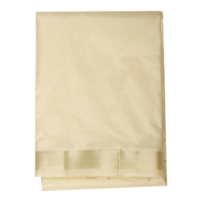 Kuberan Cream Pure Silk Dhoti