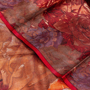 Kuberan Brown Tussar Pure Silk Saree
