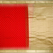 Kuberan Red Green Cotton Silk Saree