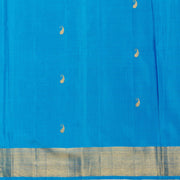 Kuberan Azure Kanchivaram Silk Saree