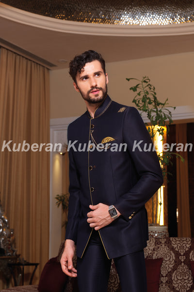 Kuberan Royal Blue Designer Suit