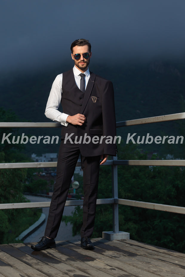 Kuberan Brown Designer Suit