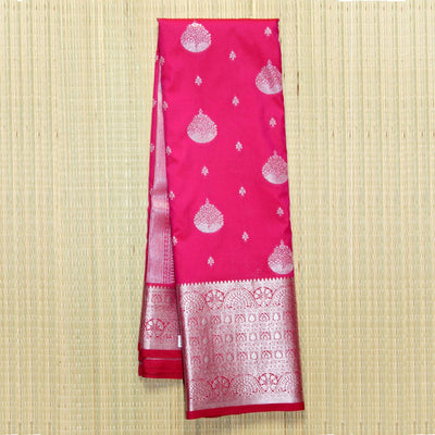 Kuberan Pink Semi Silk Saree