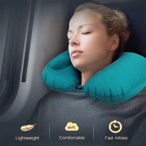 Inflatable Travel Pillow