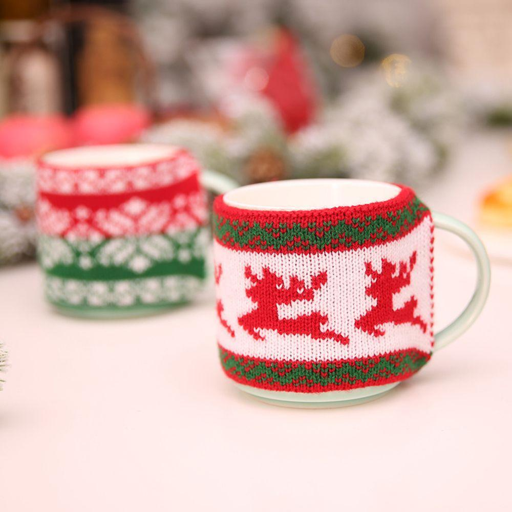 Knitted Woolen Mug Cover