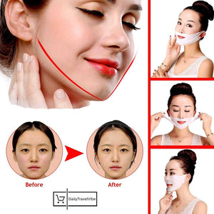 Miracle V-Shaped Slimming Mask (2 Pieces)