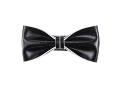 Modern Classic Leather Bow Tie