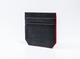 Slim Your Wallet Cardholder -Black/Red