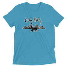 "Load image into Gallery viewer, ""City Kitty"" T-Shirt - 9 Colors"