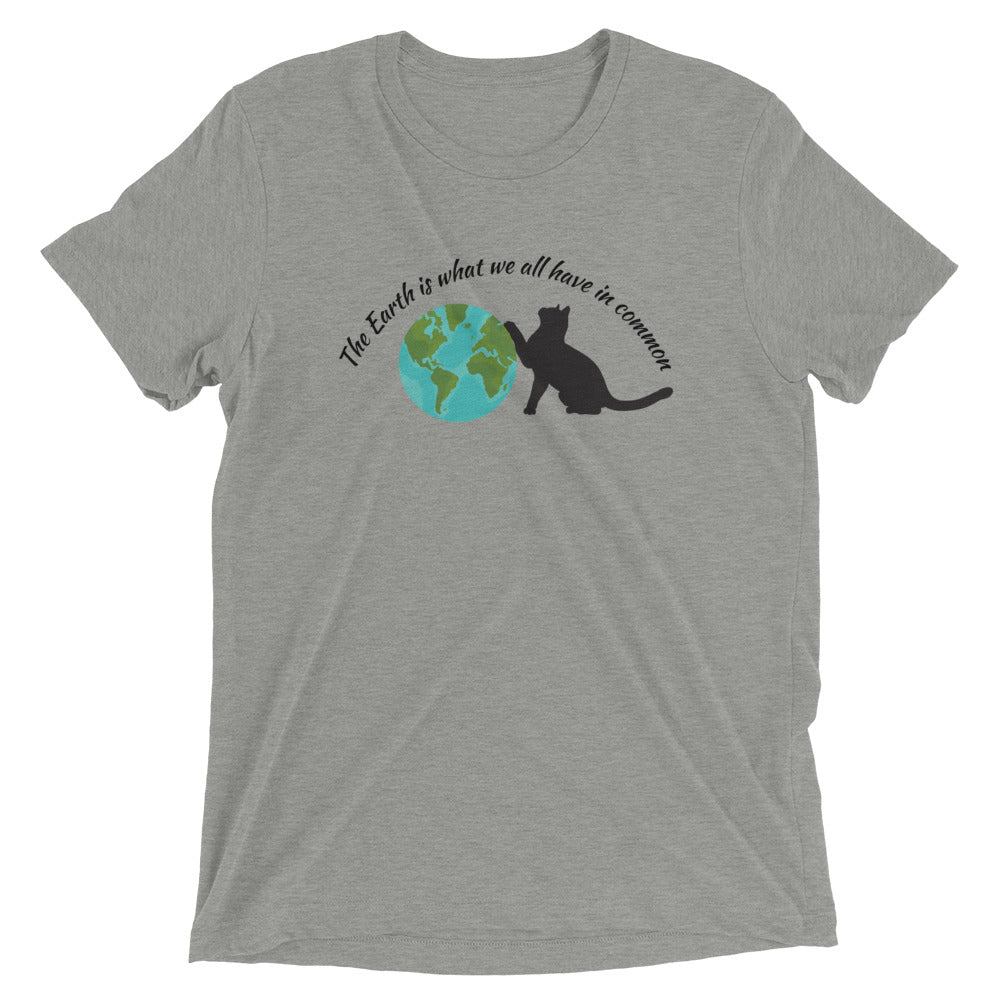 Earth Day Cat T-Shirt