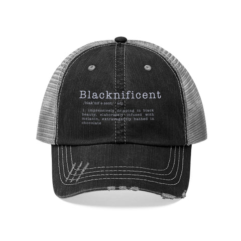 Blacknificent /adj/  | Trucker Hat